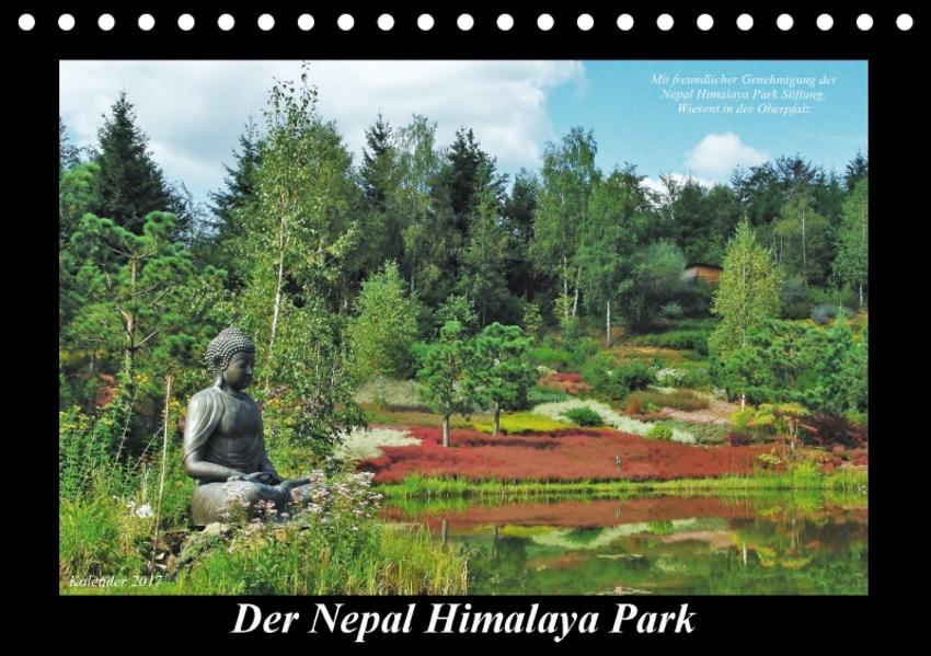 Der Nepal Himalaya Park (Tischkalender 2017 DIN A5 quer) - Coverbild