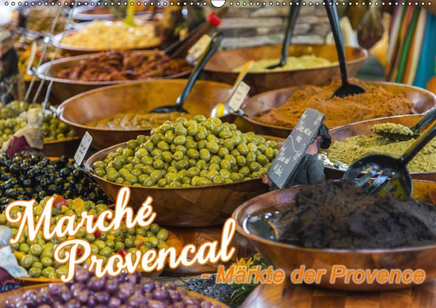Marché Provencal - Märkte der Provence (Wandkalender 2017 DIN A2 quer) - Coverbild