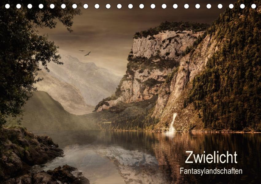 Zwielicht - Fantasylandschaften (Tischkalender 2017 DIN A5 quer) - Coverbild