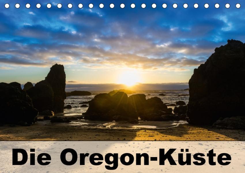 Die Oregon-Küste (Tischkalender 2017 DIN A5 quer) - Coverbild