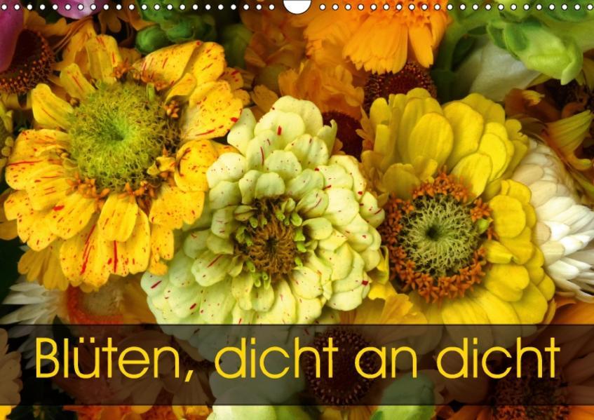 Blüten dicht an dicht (Wandkalender 2017 DIN A3 quer) - Coverbild