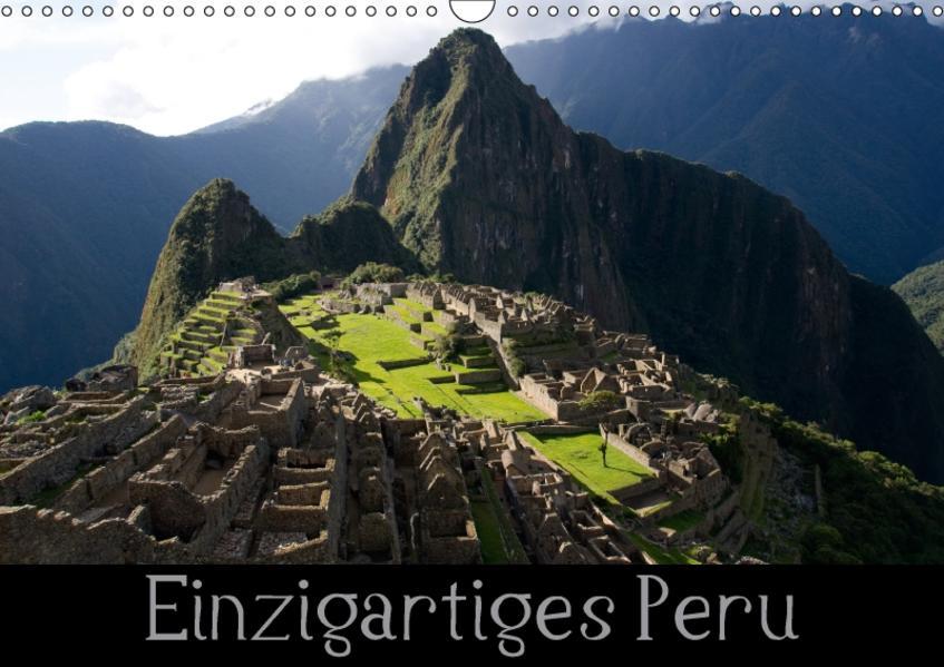 Einzigartiges Peru (Wandkalender 2017 DIN A3 quer) - Coverbild
