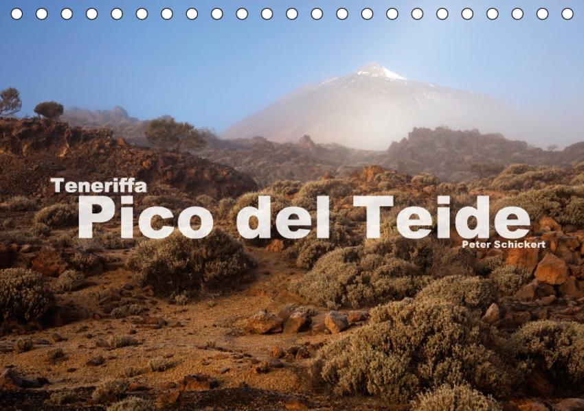 Teneriffa - Pico del Teide (Tischkalender 2017 DIN A5 quer) - Coverbild