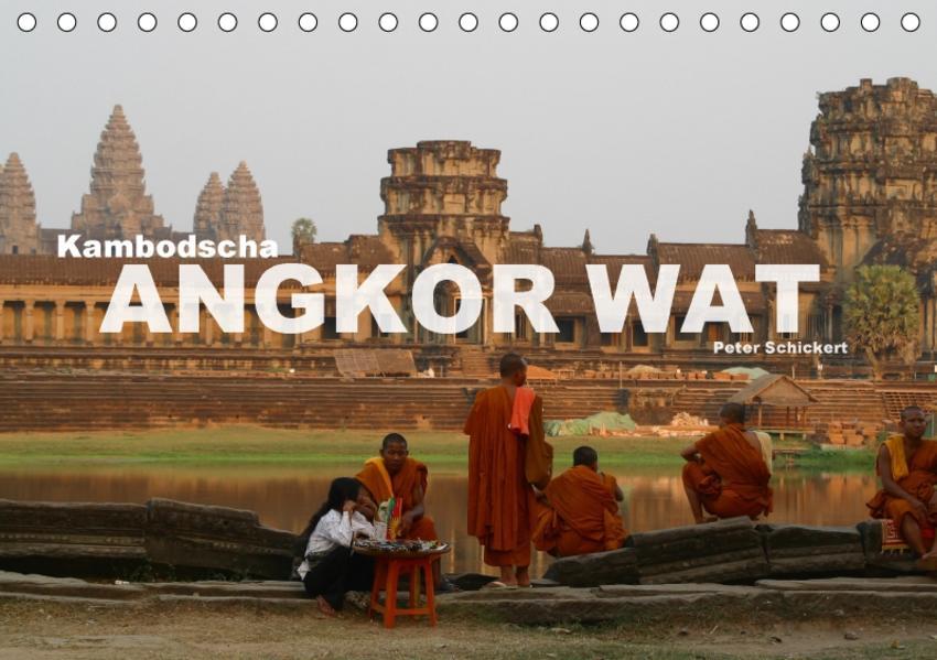 Kambodscha - Angkor Wat (Tischkalender 2017 DIN A5 quer) - Coverbild