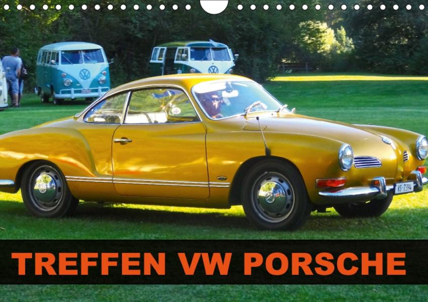 TREFFEN VW PORSCHE (Wandkalender 2017 DIN A4 quer) - Coverbild