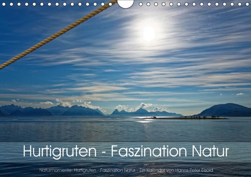 Hurtigruten - Faszination Natur (Wandkalender 2017 DIN A4 quer) - Coverbild