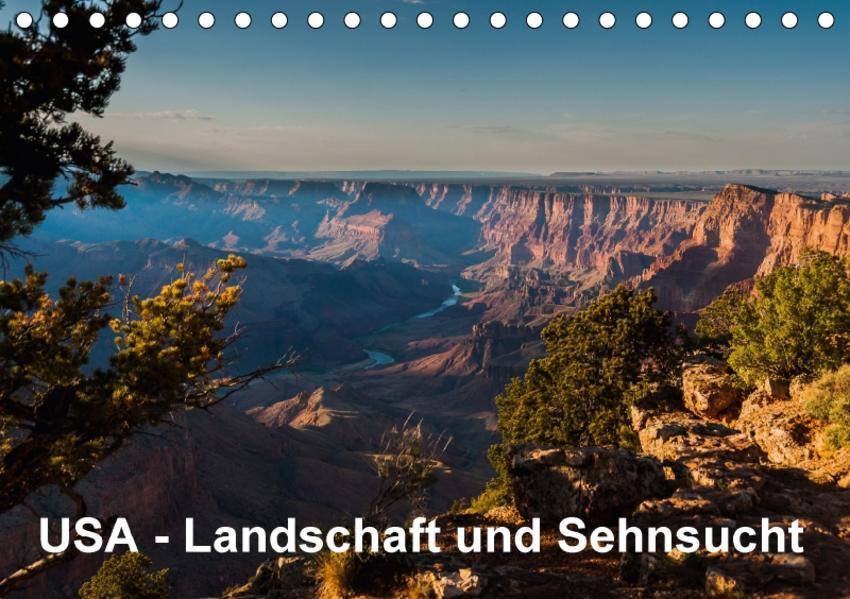 USA – Landschaft und Sehnsucht (Tischkalender 2017 DIN A5 quer) - Coverbild