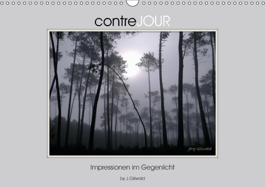 contreJOUR Impressionen im Gegenlicht (Wandkalender 2017 DIN A3 quer) - Coverbild