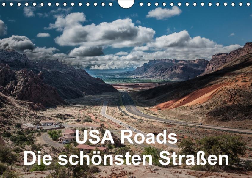USA Roads (Wandkalender 2017 DIN A4 quer) - Coverbild