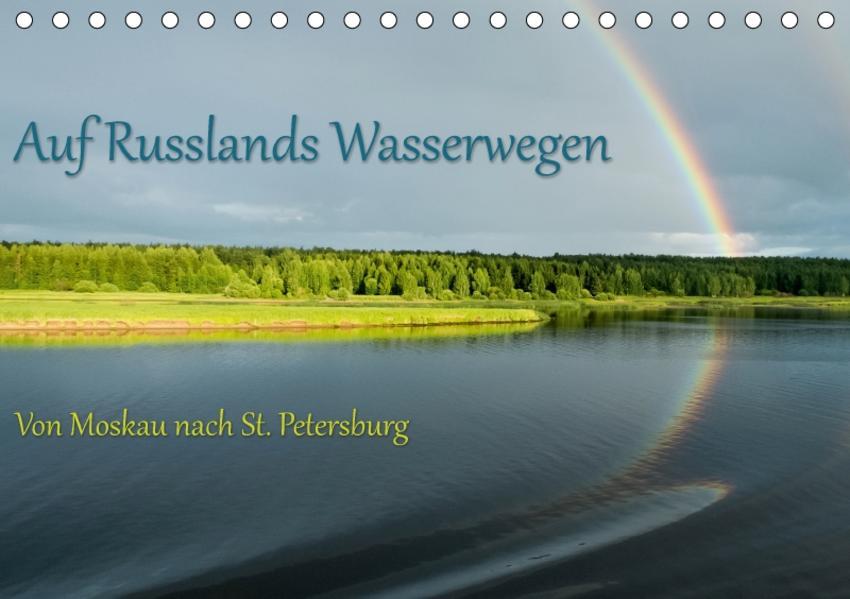 Auf Russlands Wasserwegen (Tischkalender 2017 DIN A5 quer) - Coverbild