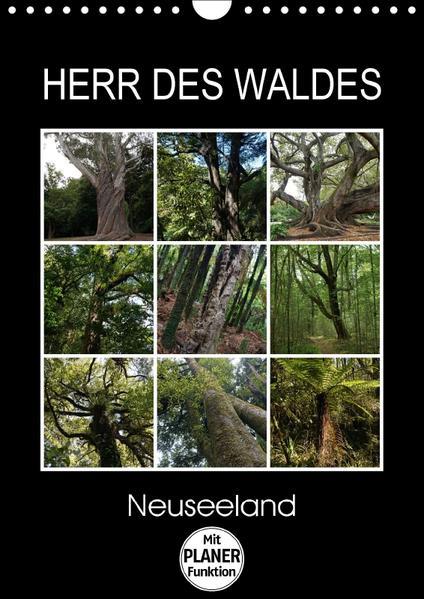Herr des Waldes - Neuseeland (Wandkalender 2017 DIN A4 hoch) - Coverbild