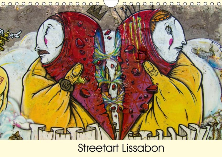 Streetart Lissabon (Wandkalender 2017 DIN A4 quer) - Coverbild