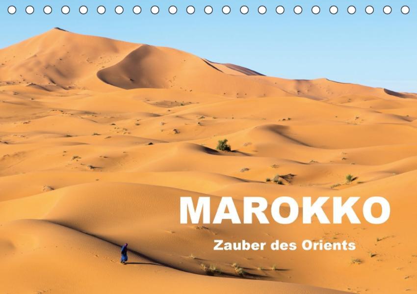 Marokko - Zauber des Orients (Tischkalender 2017 DIN A5 quer) - Coverbild