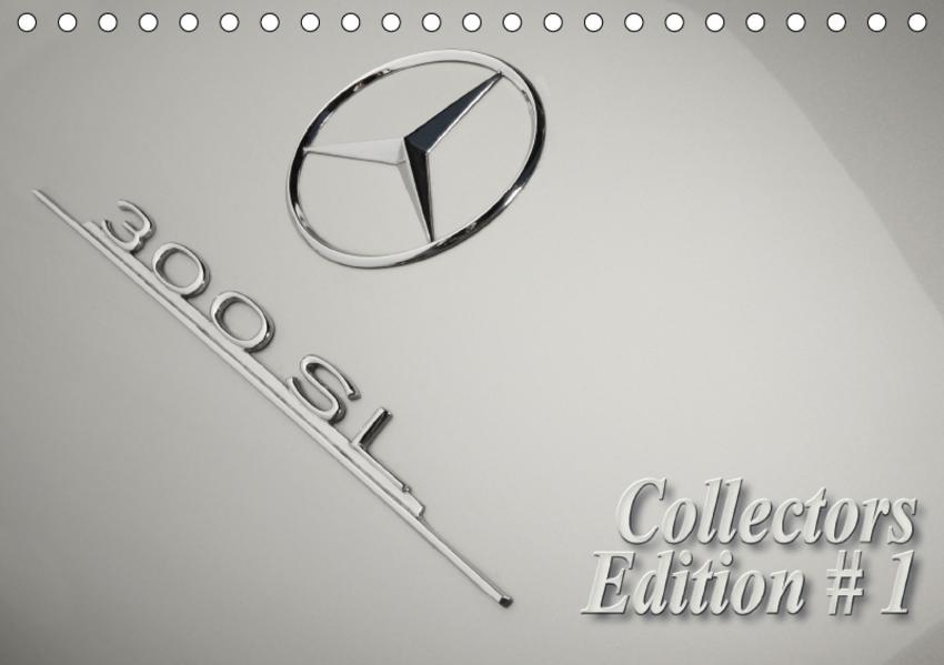 300 SL Collectors Edition # 1 (Tischkalender 2017 DIN A5 quer) - Coverbild