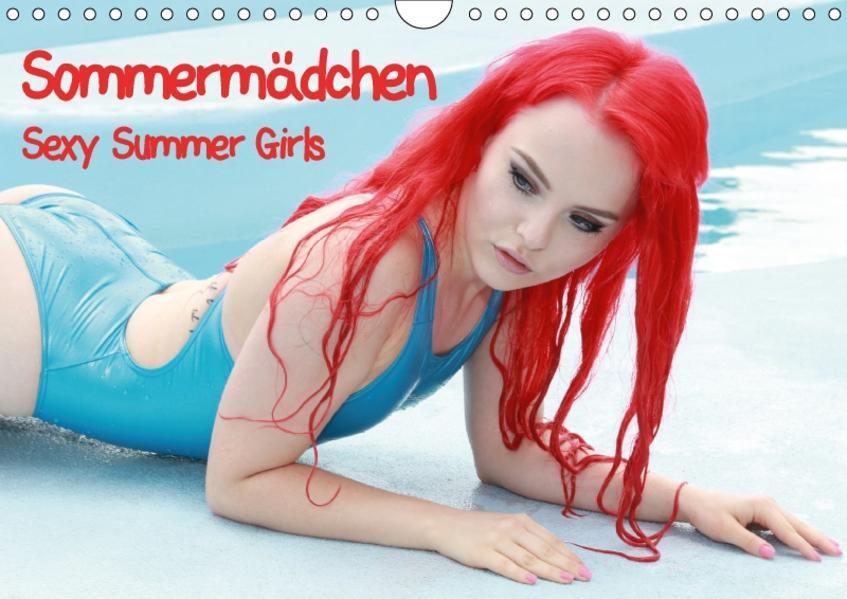 Sommermädchen - Sexy Summer Girls (Wandkalender 2017 DIN A4 quer) - Coverbild