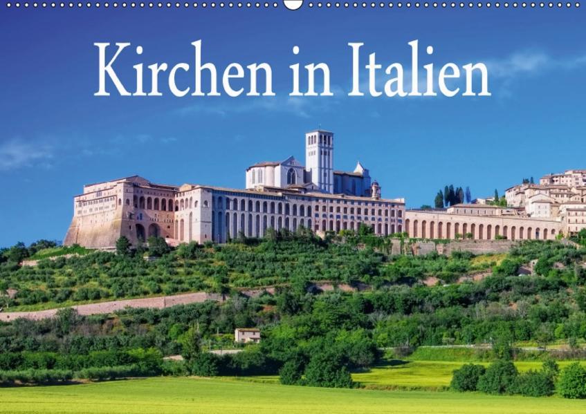 Kirchen in Italien (Wandkalender 2017 DIN A2 quer) - Coverbild