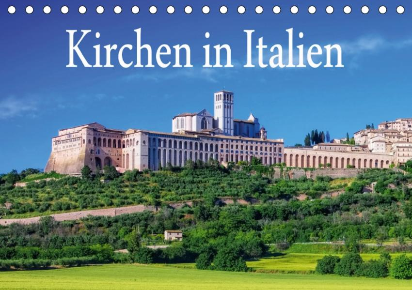 Kirchen in Italien (Tischkalender 2017 DIN A5 quer) - Coverbild