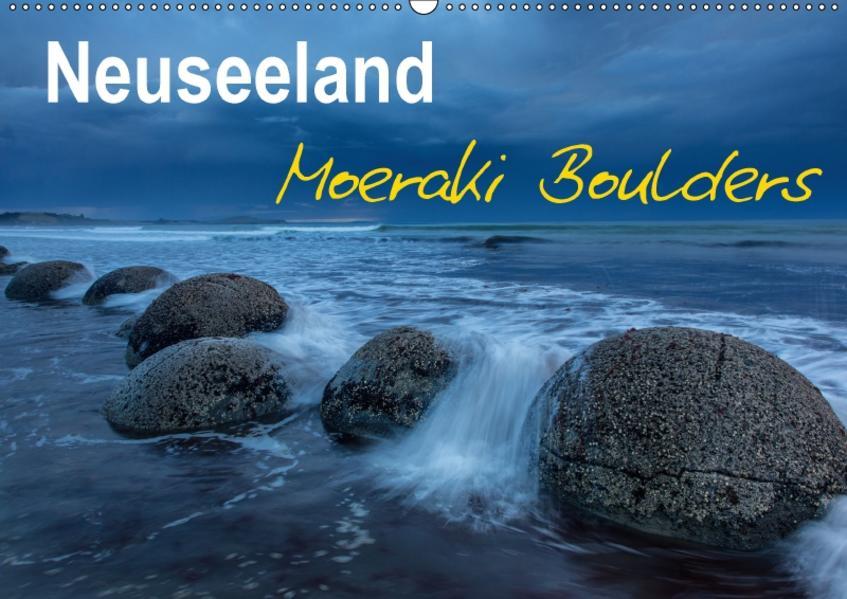 Neuseeland - Moeraki Boulders (Wandkalender 2017 DIN A2 quer) - Coverbild