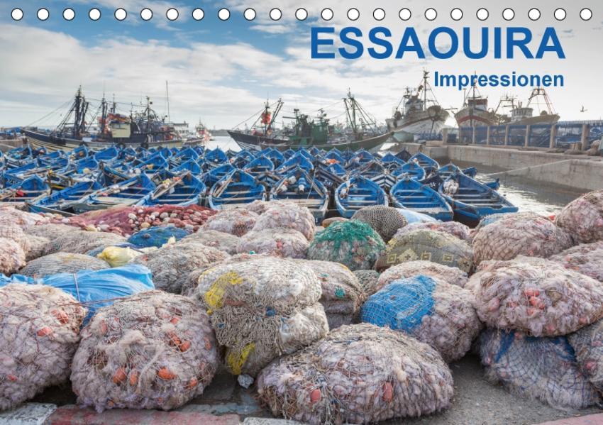 Essaouira - Impressionen (Tischkalender 2017 DIN A5 quer) - Coverbild