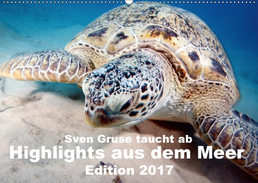 Sven Gruse taucht ab - Highlights aus dem Meer Edition 2017 (Wandkalender 2017 DIN A2 quer) - Coverbild