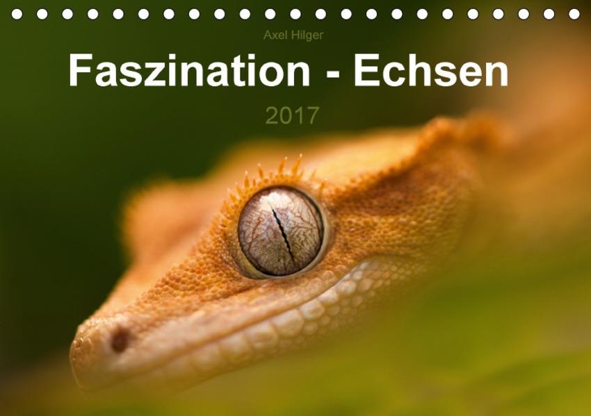 Faszination - Echsen (Tischkalender 2017 DIN A5 quer) - Coverbild