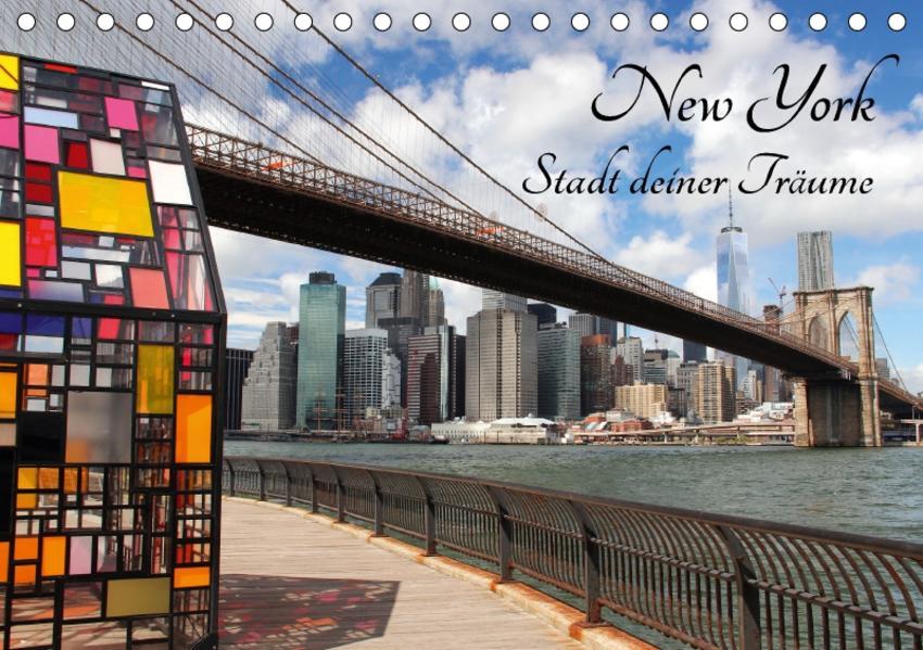 New York - Stadt deiner Träume (Tischkalender 2017 DIN A5 quer) - Coverbild