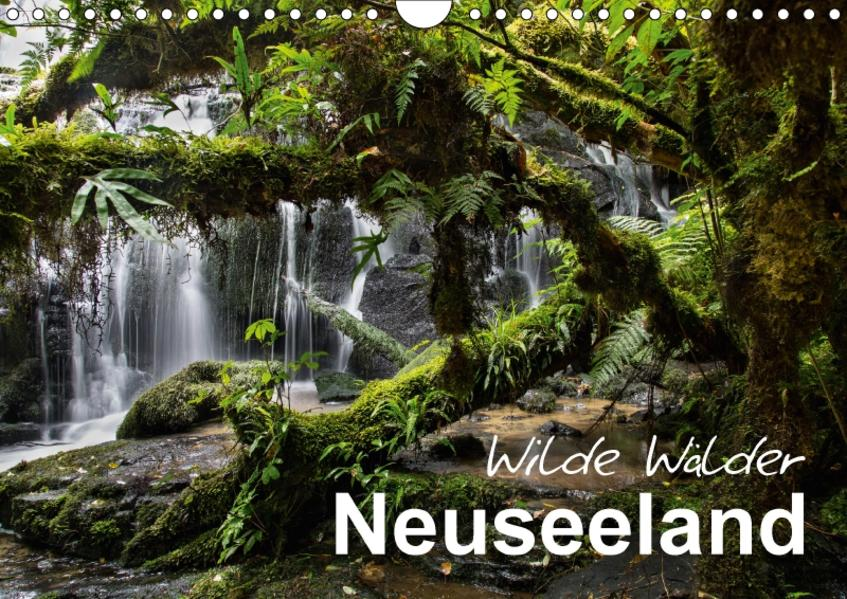 Neuseeland - Wilde Wälder (Wandkalender 2017 DIN A4 quer) - Coverbild