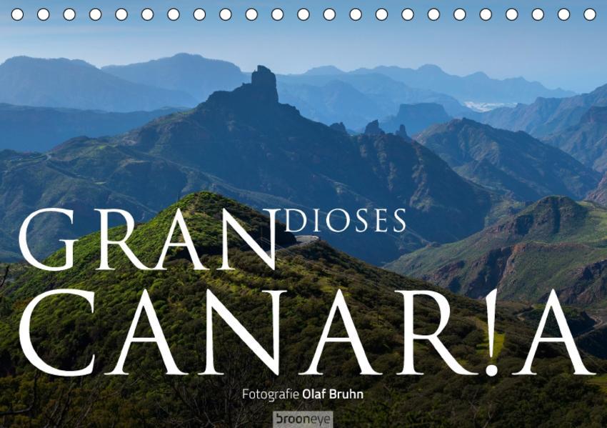 Grandioses Canaria (Tischkalender 2017 DIN A5 quer) - Coverbild