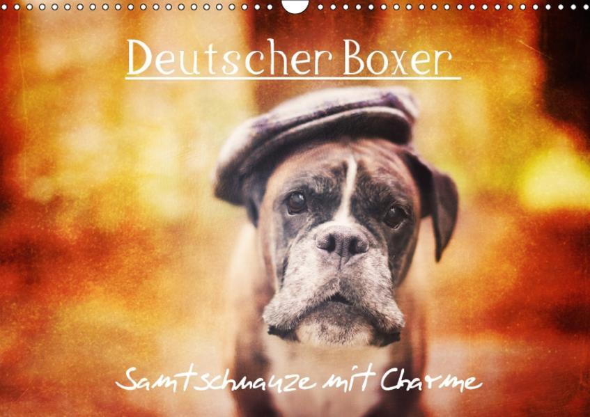 Deutscher Boxer (Wandkalender 2017 DIN A3 quer) - Coverbild