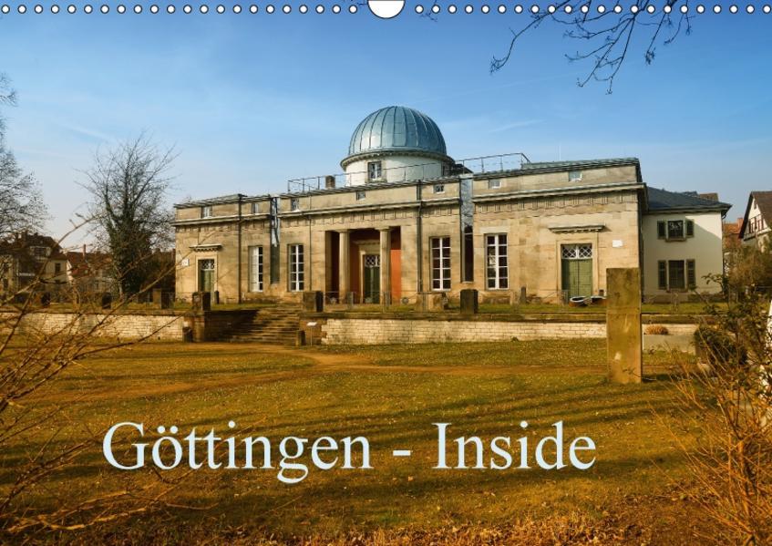 Göttingen - Inside (Wandkalender 2017 DIN A3 quer) - Coverbild