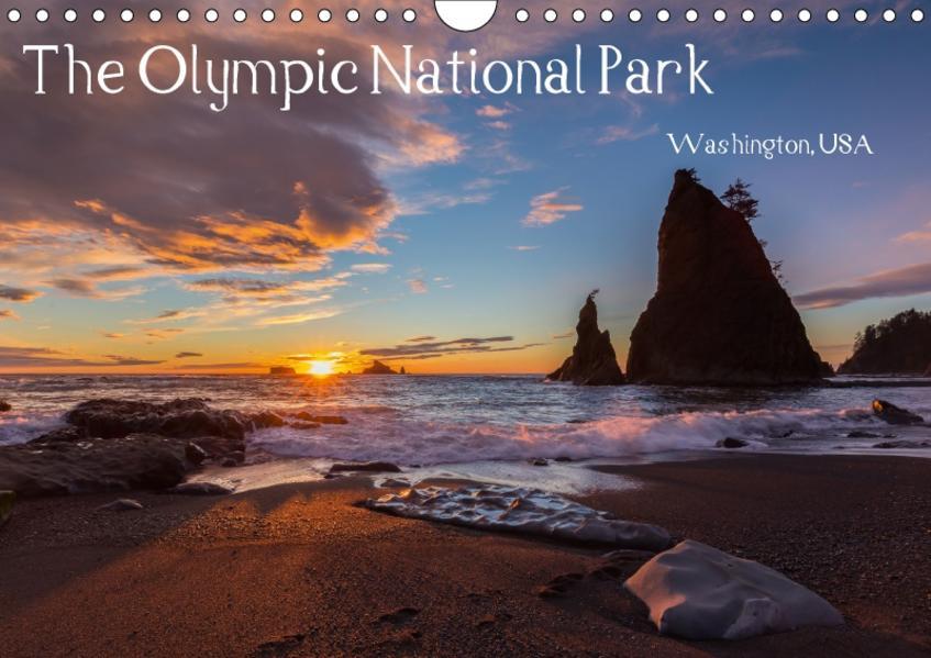 The Olympic National Park - Washington USA (Wandkalender 2017 DIN A4 quer) - Coverbild