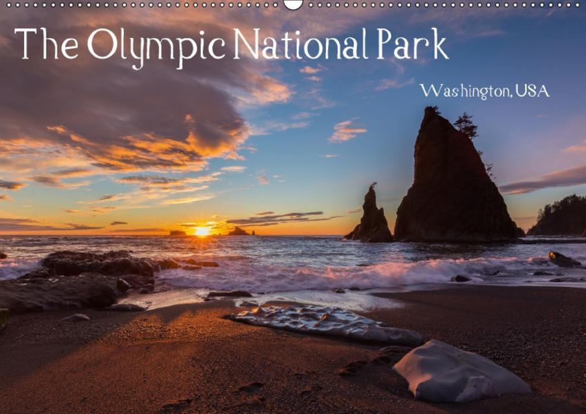 The Olympic National Park - Washington USA (Wandkalender 2017 DIN A2 quer) - Coverbild
