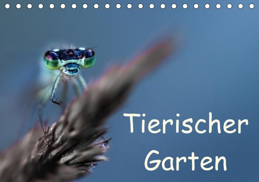 Tierischer Garten (Tischkalender 2017 DIN A5 quer) - Coverbild