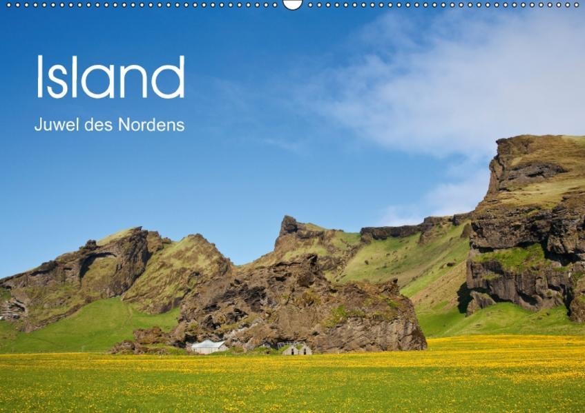 Island Juwel des Nordens (Wandkalender 2017 DIN A2 quer) - Coverbild