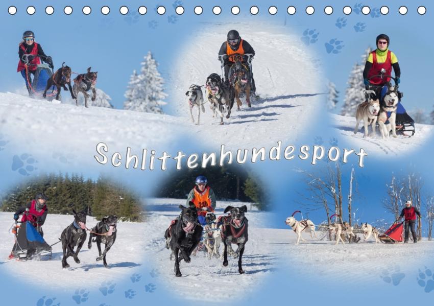 Schlittenhundesport (Tischkalender 2017 DIN A5 quer) - Coverbild