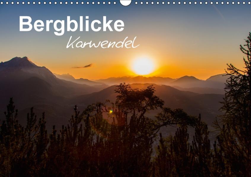 Bergblicke - Karwendel (Wandkalender 2017 DIN A3 quer) - Coverbild