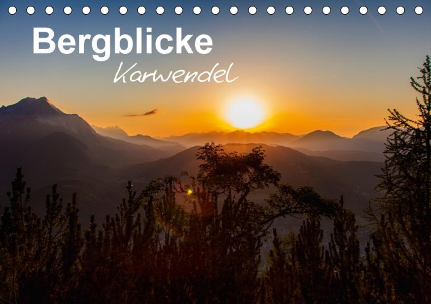 Bergblicke - Karwendel (Tischkalender 2017 DIN A5 quer) - Coverbild