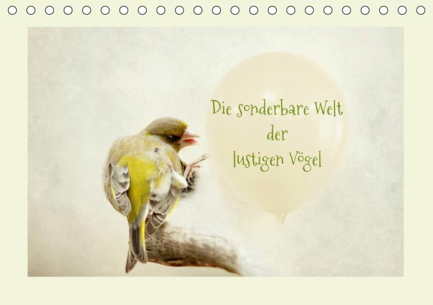 Die sonderbare Welt der lustigen Vögel (Tischkalender 2017 DIN A5 quer) - Coverbild