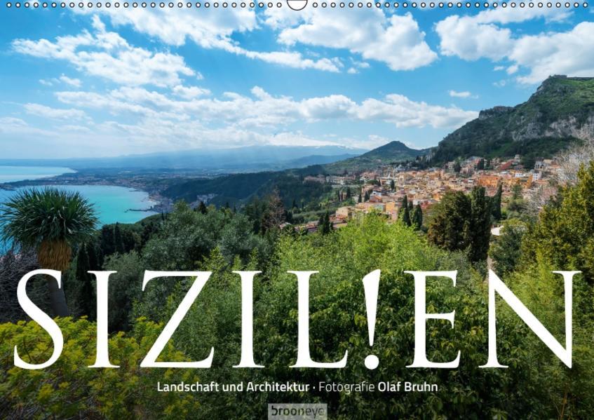 Sizilien – Landschaft und Architektur (Wandkalender 2017 DIN A2 quer) - Coverbild