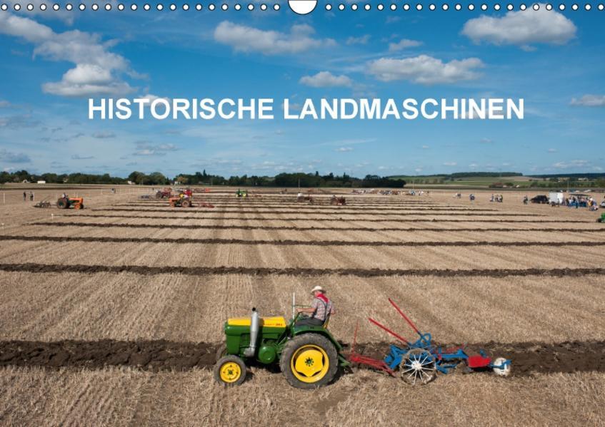 Historische Landmaschinen (Wandkalender 2017 DIN A3 quer) - Coverbild
