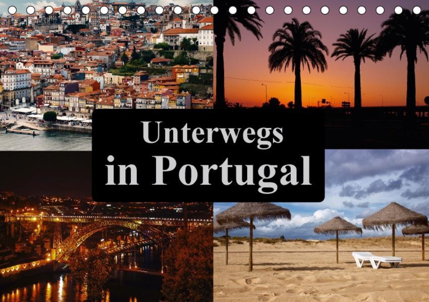 Unterwegs in Portugal (Tischkalender 2017 DIN A5 quer) - Coverbild