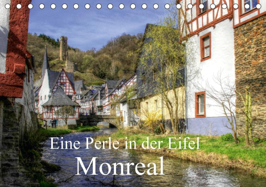 Eine Perle in der Eifel - Monreal (Tischkalender 2017 DIN A5 quer) - Coverbild