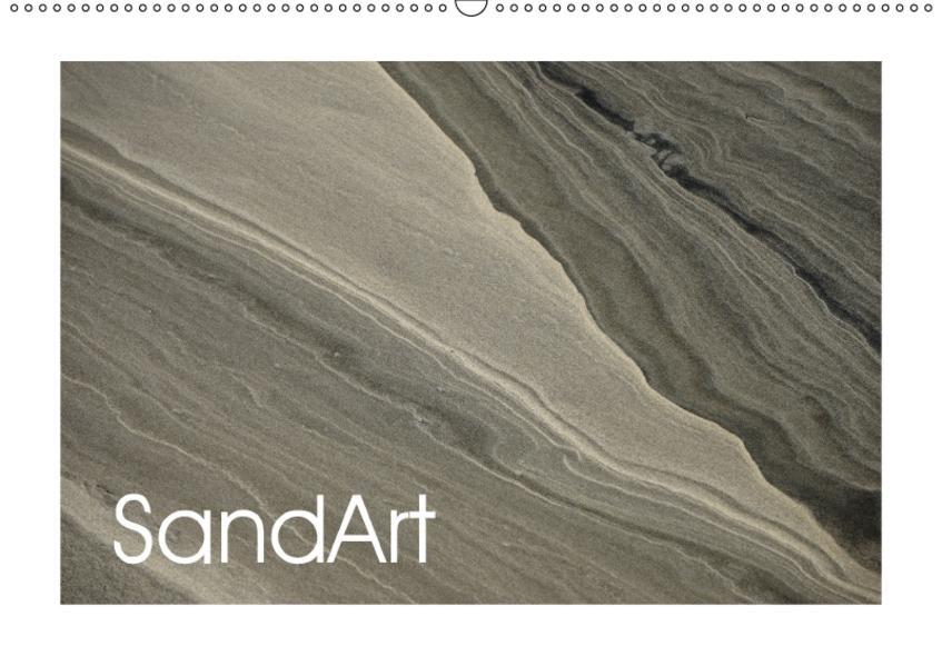 SandArt (Wandkalender 2017 DIN A2 quer) - Coverbild