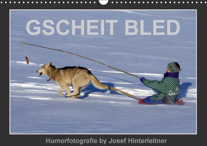 GSCHEIT BLED - Humorfotografie (Wandkalender 2017 DIN A3 quer) - Coverbild