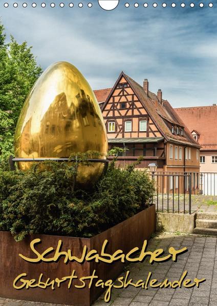Schwabach Geburtstagskalender (Wandkalender 2017 DIN A4 hoch) - Coverbild