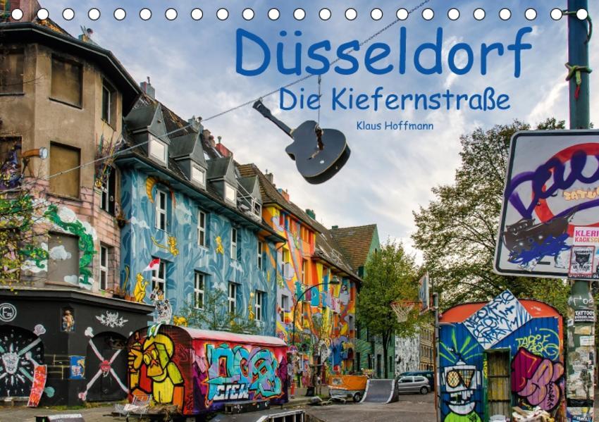 Düsseldorf - Die Kiefernstraße (Tischkalender 2017 DIN A5 quer) - Coverbild