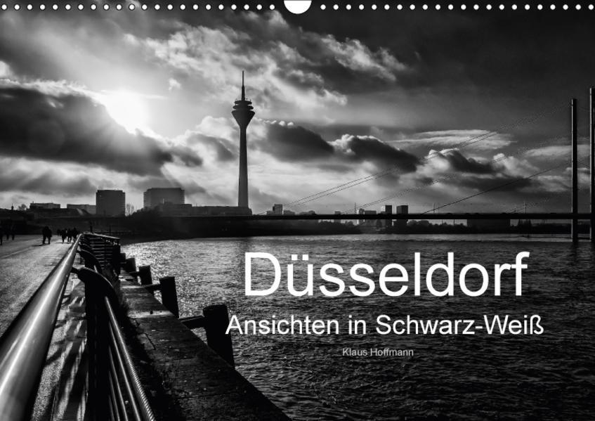 Düsseldorf Ansichten in Schwarz-Weiß (Wandkalender 2017 DIN A3 quer) - Coverbild
