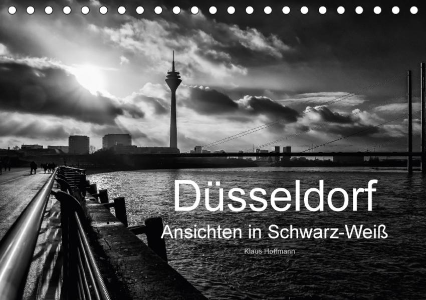 Düsseldorf Ansichten in Schwarz-Weiß (Tischkalender 2017 DIN A5 quer) - Coverbild