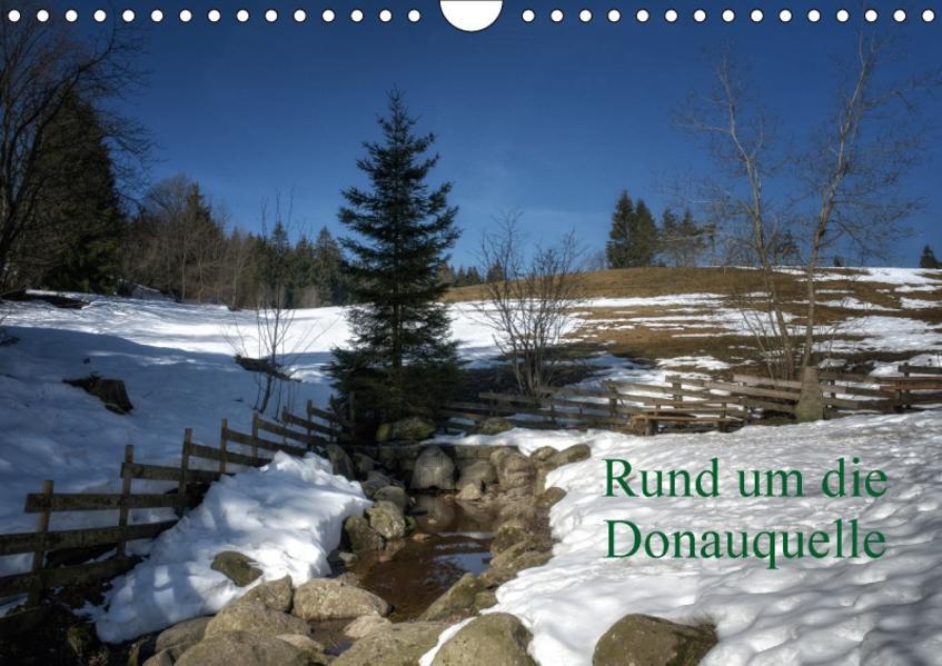 Rund um die DonauquelleAT-Version  (Wandkalender 2017 DIN A4 quer) - Coverbild