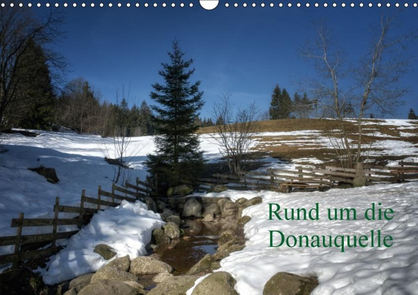 Rund um die DonauquelleAT-Version  (Wandkalender 2017 DIN A3 quer) - Coverbild